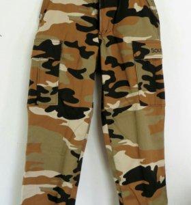 Новые детские брюки камуфляж
