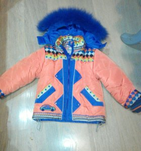 Зимняя куртка на рост 104-110 см