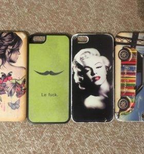 Чехлы на iPhone 5s/5