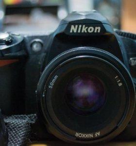 Nikon D50 (50mm 1.8)