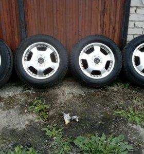 Литье и шины зима R 17 .