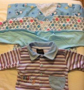 Вещи на мальчика 0-3 месяца