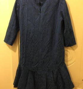 Платье. Ткань жаккард