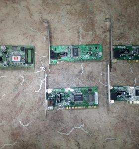 Сетевые карты PCI, 100 Mbit