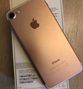 iPhone 7 Rose Gold 128GB, РСТ