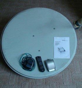 Полный комплект для спутникового интернета