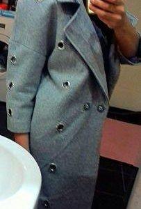Шикарное пальто в хорошем состоянии