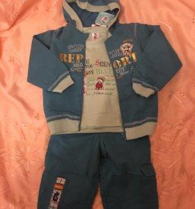 Новый костюмчик на малыша