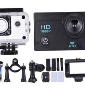 Новая экшн камера Sports Cam 1080p WiFi