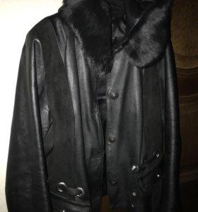 Куртка кожанная Турция (р 48)