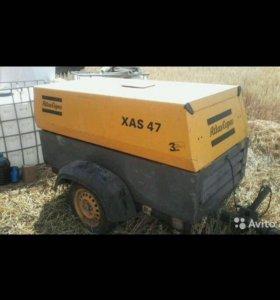Аренда Безшумный компрессор на базе газель фермер