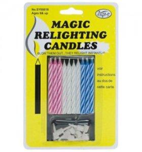 Незадуваемые свечи