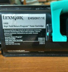 Картриджи Lexmark E450H11