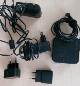 Зарядные устройства для телефонов и ноутбука