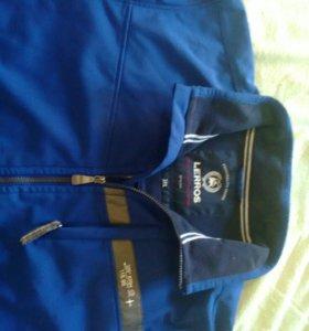 Куртка на флисе б/у (большой размер)