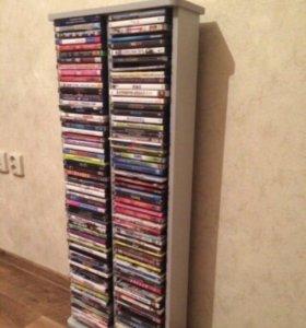 Полка для DVD с дисками