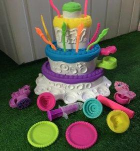 Набор для лепки Праздничный торт Hasbro Play Doh