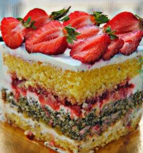 Тортики и всякие вкусняшки..