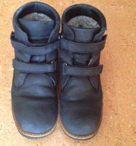 Зимние ботинки для мальчика р.36