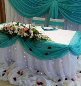 Оформление свадеб и торжеств, любой бюджет.