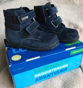 Ботинки осень зима р24