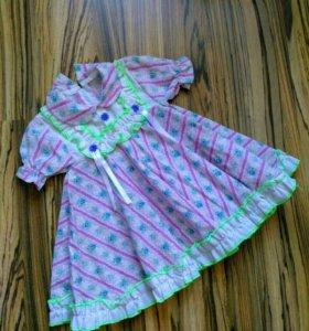 Новое платье, 80-86 размер