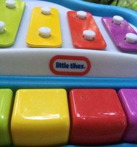 Пианино little tikes механическое