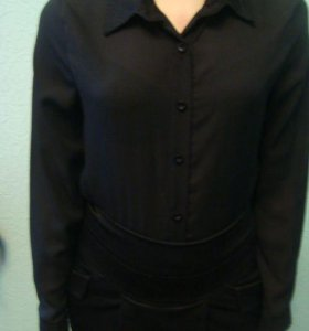 блуза черная новая