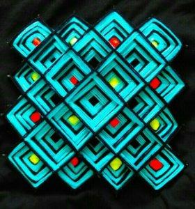 Тибетская мандала (сувенир, интерьерное украшение)
