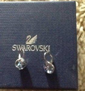 Серёжки Swarovski