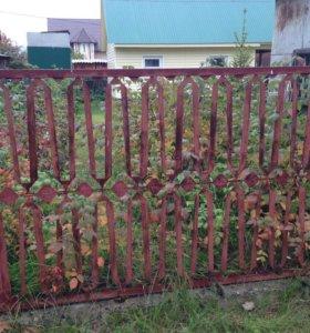 Забор из высечки