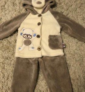Тёплый детский костюмчик