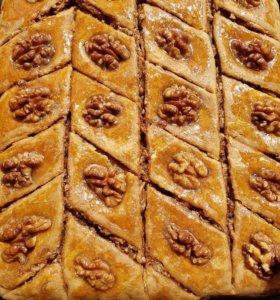 Вкусная домашняя армянская пахлава на заказ