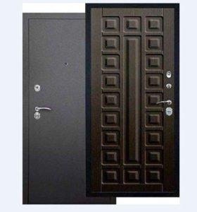 Входные сейф-двери Берлога 3К Сенатор венге/ларче