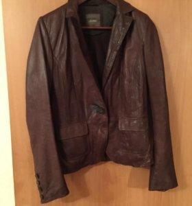 Пиджак эко-кожа