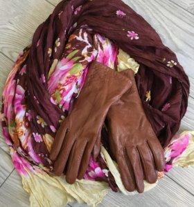 Перчатки и шарфик