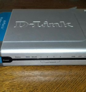 Роутер D-link DI-824 VUP