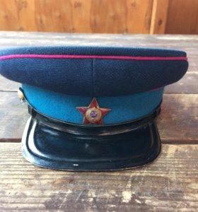 Фуражка НКВД копия,звезда и козырек Оригинал !!!!!