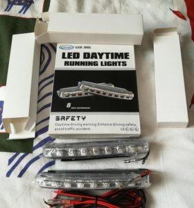 Светодиодные фары дневного света