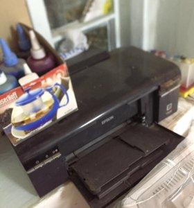 Принтер струйный+СНПЧ