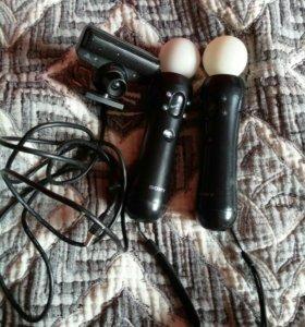 SONY MOTION CONTROLLER и камера для них