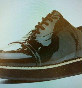 Ботинки 38 зеленый