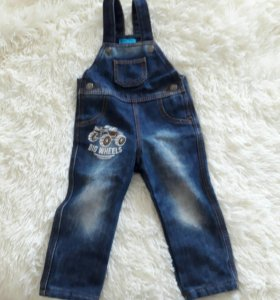 Продам джинсовые штанишки утепленные
