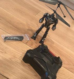 Летающий робот интерактивная игрушка