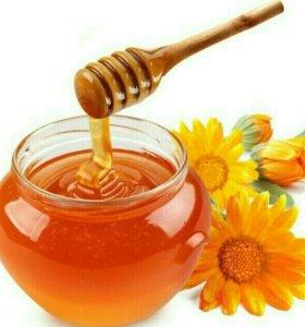 Мёд разнотравье 2017г