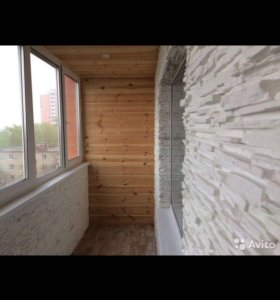 Отделка, Остекление балконов.Окна