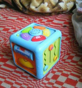 Интерактивный развивающий кубик