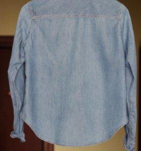 Рубашка джинсовая hm