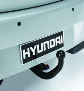 Фаркоп на Hyundai Solaris (Трейлер)