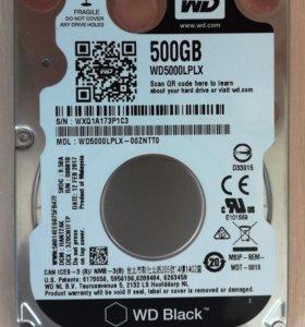 """HDD 2,5"""" WD Black 500Gb. Новый"""